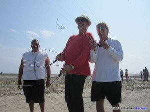 Lee Sedgwick flies with Scott Skinner, Ben Dantonio watching