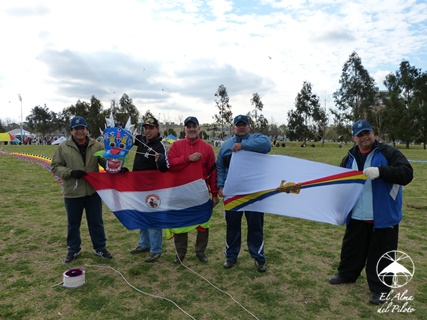 APUDI Paraguay kites